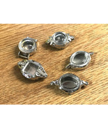 Lot of 5 Ladies Watch C end Silver & Gold Cases Parts Repair Crafts Jewe... - $14.25