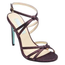 Blue by Betsey Johnson Women Stiletto Heel Slingback Sandal Myla US 8.5 Fuchsia - $39.94