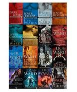 BLACK DAGGER BROTHERHOOD Paranormal Series by J.R. Ward Set of Books 1-16 - $106.99