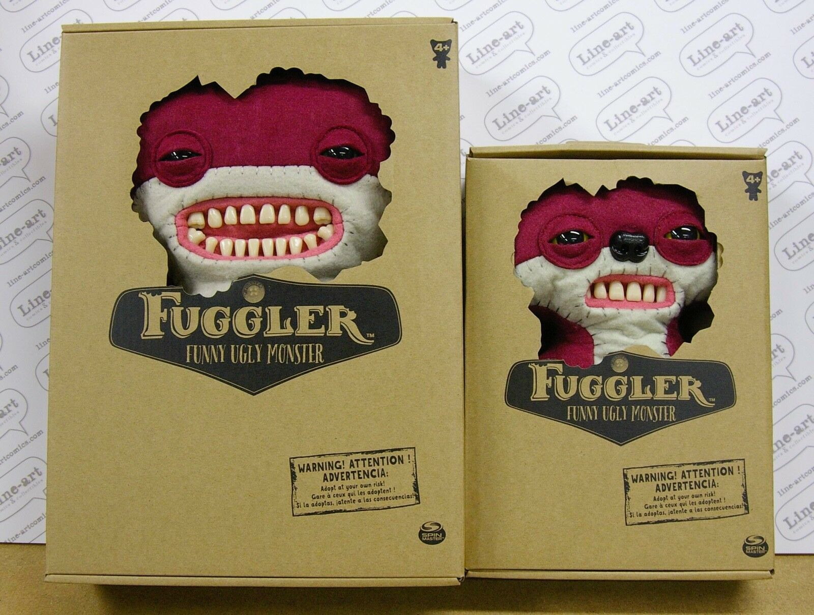 Primary image for FUGGLER Doll LOT of 2 Mrs Gettrick's EMPORIUM  Large & Medium New RARE FUGGLERS
