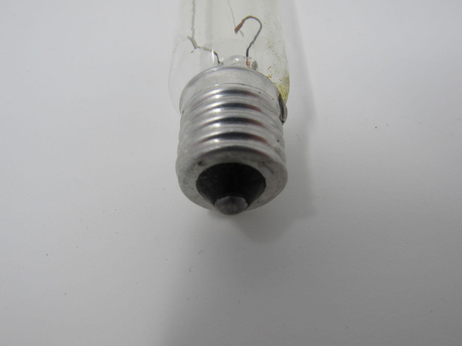 Philips 25W Tubular Incandescent Bulb T61/2 Clear E17 Base 5CT61/2-P Vintage