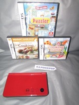 Nintendo DSi XL 25th Anniversary Edition with Mario Kart Red Handheld Sy... - $69.29