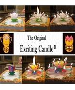 1 Rainbow + 1 White  Amazing Lotus Flower Music Happy Birthday EXCITING ... - $14.99