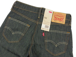 New Levi's Strauss 511 Men's Original Slim Fit Premium Jeans Pants 511-0408