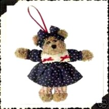 "Boyds Bear ""Josanna Java"" 5"" Plush Bear Ornament- #56272-  2005- NWT- Retired - $12.99"
