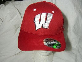 Zephyr University Of Wisconsin Hat Ball Cap College Ncaa Collegiate Nwt M/L - $18.95