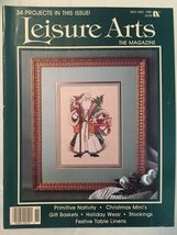 Leisure Arts the Magazine: Nov/Dec 1987 34 Projects [Unknown Binding] - $3.95
