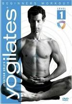 JONATHAN URLA*DVD Disc YOGILATES Fitness BEGINNER'S WORKOUT LEVEL 1 Yoga... - $3.14
