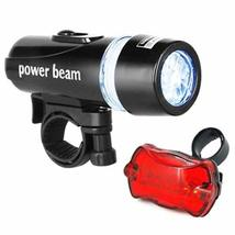 Bicycle LED Head Lights - Front and Rear - 6 Modes for Night Safety - by... - $6.49