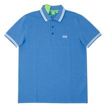 New Hugo Boss Men's Regular Fit Paddy Pro Polo Shirt T-Shirt Blue 50302557 499