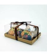 Salt Pepper Shaker Set Cornucopia Basket Collectible Decorative Home Gol... - $20.89