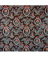 """URBAN OUTFITTERS Bed Spread Tapestry Brown Retro Bird Floral Print 90"""" x... - $48.50"""