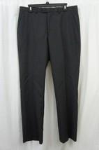 Perry Ellis Mens Pants Sz 34X30 Midnight Blue Modern Fit Business Dress ... - $45.08