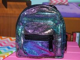"18"" Doll School Supplies Backpack bookbag Rainbow American Girl Our Generation - $14.84"