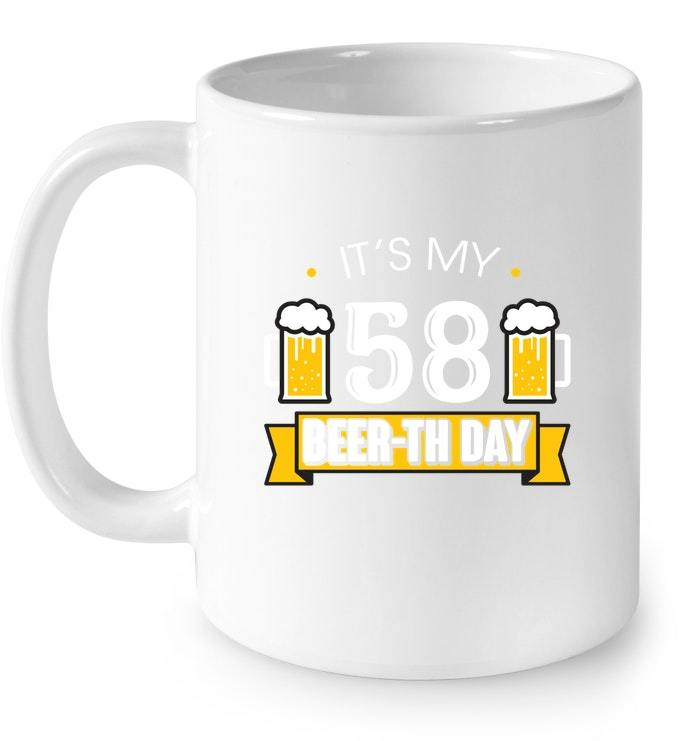 58th Birthday Gifts For Men Women Beer Drinking Gift