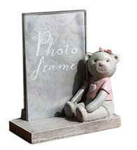 Koala Superstore 6-inch Cute Bear Resin Photo Frame Tabletop Picture Display for - $38.33