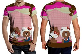 Hello Kitty and Brown Tee Men - $23.99