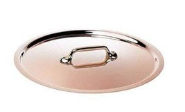 De Buyer Professional 16 cm Inocuivre Copper and Stainless Steel Lid 645... - $81.82