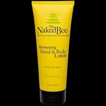 The Naked Bee Citron & Honey Hand & Body Lotion 6.7 oz Large Size New - $10.84