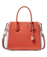 NWT Michael Kors Mercer Belted Tri-color Medium Satchel MSRP $358.00 - $178.19