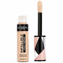 L'Oreal Paris Cosmetics Infallible Full Wear Concealer, Bisque, 0.33 Flu... - $14.25