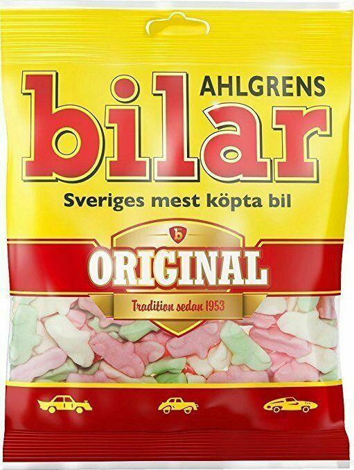 Ahlgrens Bilar - Soft Chewy Candy Cars 125g - Swedish Candy - $8.91 - $178.20