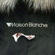 Vintage Maison Blanche Saga Mink Women's Dark Brown Fur Coat Size 10 image 4