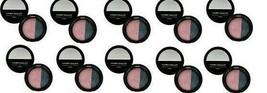 10 x Laura Geller Eyeshadow Duo Sateen Fresco Pink / Mystic Sea Eye Rimz New LOT - $27.99