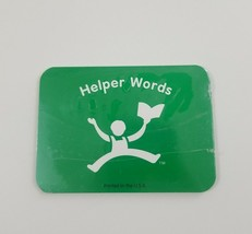 Hooked On Phonics Learn To Read 2nd Grade Green Helper Words Flash Cards - $5.89