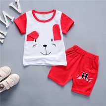 Toddler 2Pcs Summer Clothes Infant Kids Baby Boys Clothes T shirt Tops+P... - $8.69
