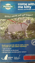 PetSafe Medium Cat Harness Bungee Leash come with me kitty - $10.00