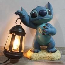 Disney Store JAPAN Stitch Figures Floor Light Lamp Lantern Garden Ornament  - $343.53