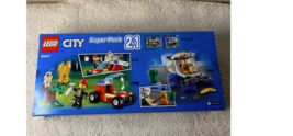LEGO CITY Super Pack 2-in-1 66637 Buiding Toy for Kids Truck & Plane 173... - $49.99