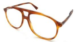 Gucci Eyeglasses Frames GG0264O 002 57-16-145 Havana Made in Italy - $245.00