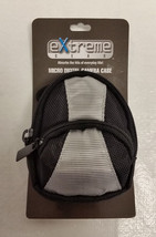 EXTREME GEAR Case for MICRO DIGITAL CAMERAS Black+Grey Canvas BELT STRAP... - $5.39