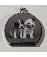 CHARMING JACK RUSSELL TERRIER PUPPY DOG TWO SIDED COMPACT MIRROR HAND HELD - $11.87