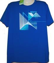 Hugo Boss Blue Logo Design Cotton Men's T- Shirt Size 2XL NEW Boss Green - $98.98