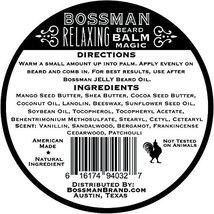 Bossman Relaxing Beard Balm - Nourish, Thicken and Strengthen Your Beard Magic image 2