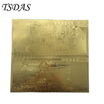 Oman 50 Rial Gold Banknote With Pure 24K Gold Foil Plated Nice Banknotes... - $8.70