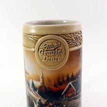 "Miller Genuine Draft Ducks Unlimited Stein ""The Pleasures Of Winter""  image 5"