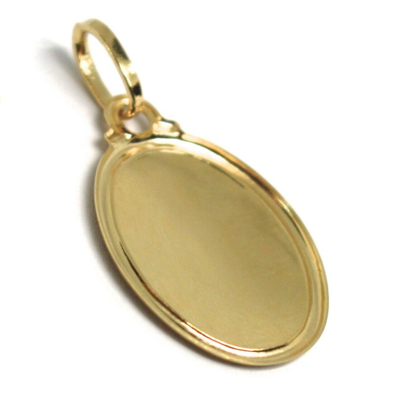 Pendentif Médaille or Jaune 750 18K, Sainte Famille, Marie Joseph Jésus image 3