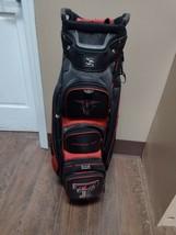 Team Effort Texas Tech Red Raiders 14 Divider Golf Cart Bag Black/Red - $94.05