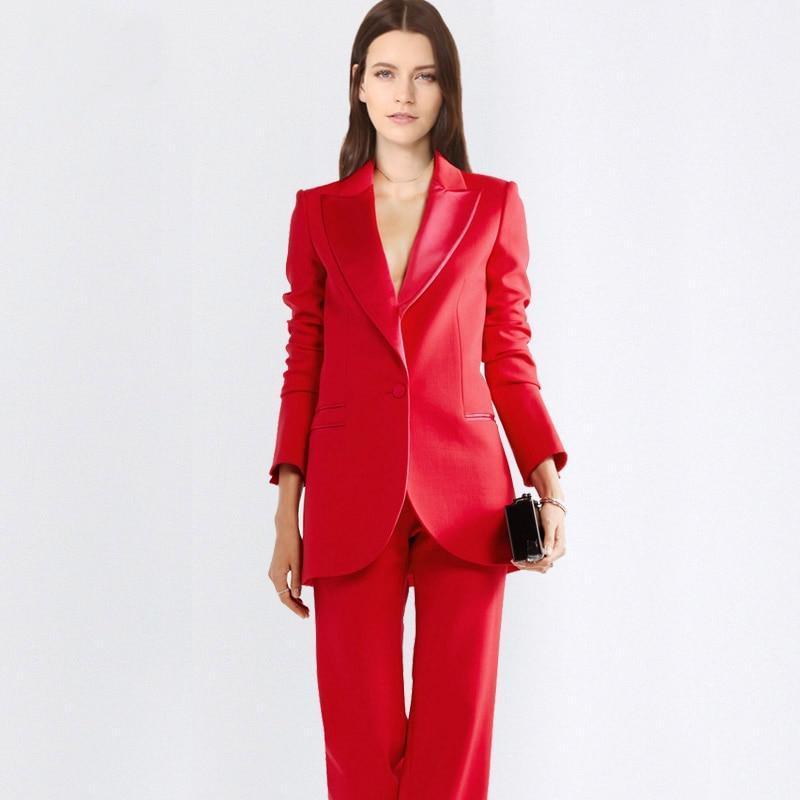 Custom made dark gray women s business suits women s office uniforms pants formal suits women