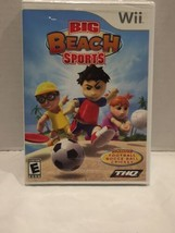 Big Beach Sports (Nintendo Wii, 2008) New Old Stock Factory Sealed - $14.84