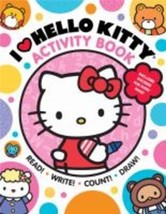 I Heart Hello Kitty Activity Book : Read, Write, Count, and Draw with He... - $41.37