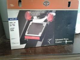 Harley Chrome License Bracket / Frame P/N: 59863-94T