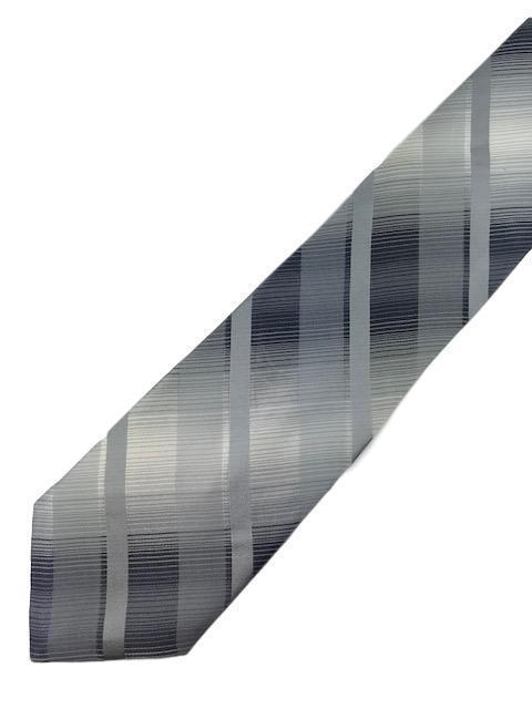 New KENNETH COLE REACTION Men's Tie Silver Fine Silk Neck Tie 59""