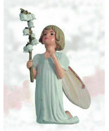 Retired Cicely Mary Barker Lily of the Valley Garden Fairy Ornament - $58.50