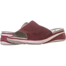 JSport by Jambu Ruby Slide On Sandals, Red 617, Red, 11 US - $27.83