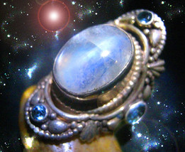 HAUNTED RING ALEXANDRIA'S WEALTH RUNNING WILD EXTREME RICHES SECRET OOAK... - $4,498.89